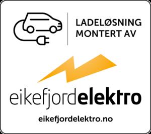 ladeløysing bil levert av Eikefjord Elektro